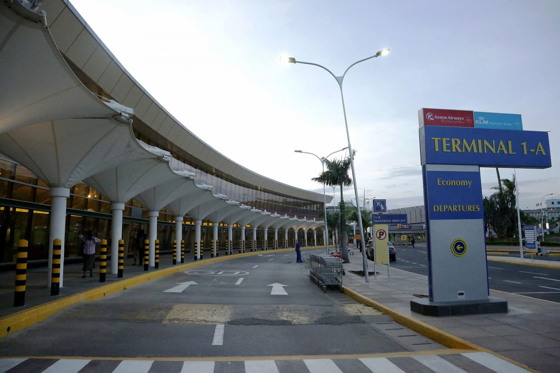 jomo kenyatta international airport, foreign travel, domestic travel