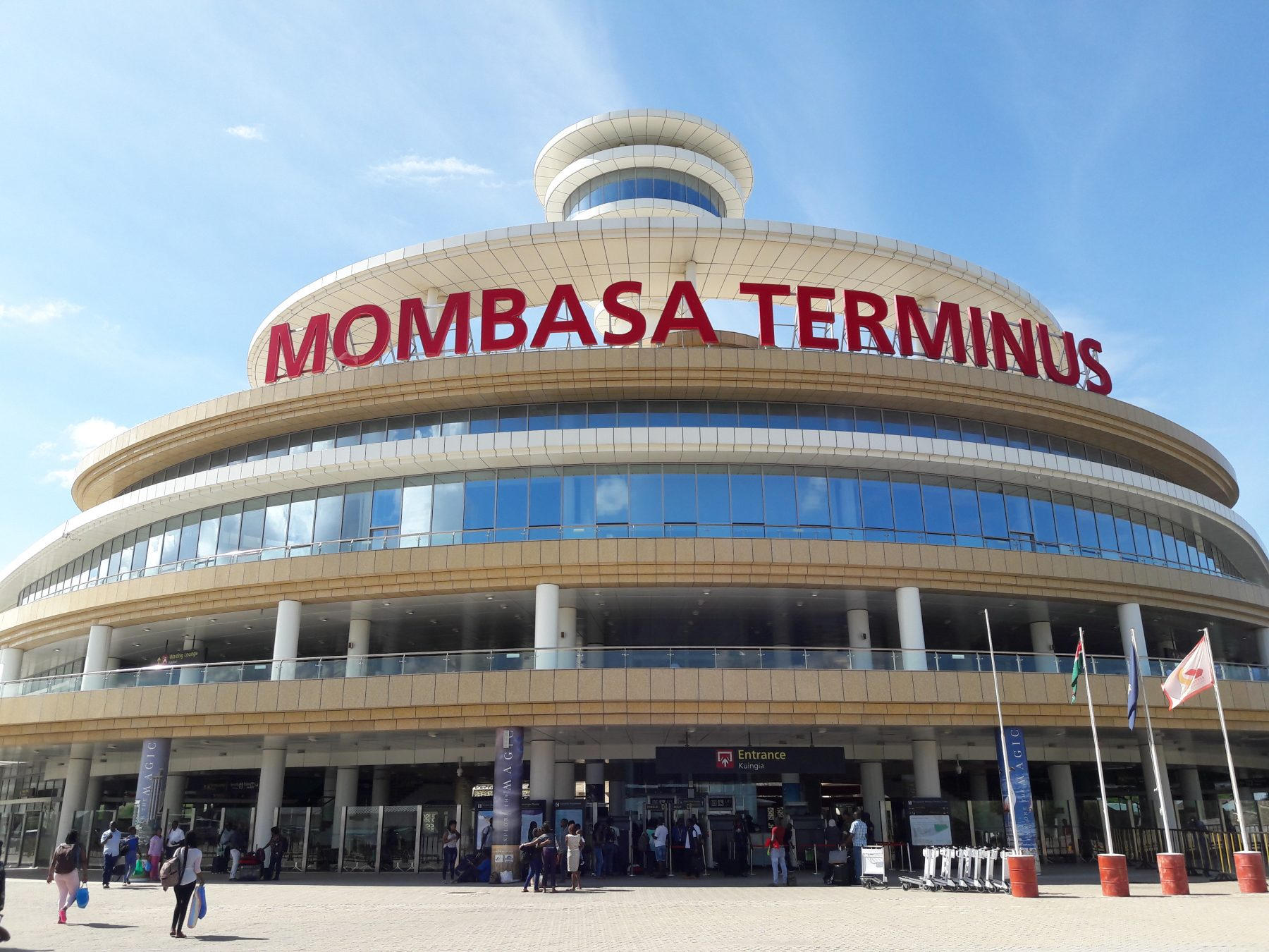 train cargo, standard gauge railway, sgr, mombasa terminus