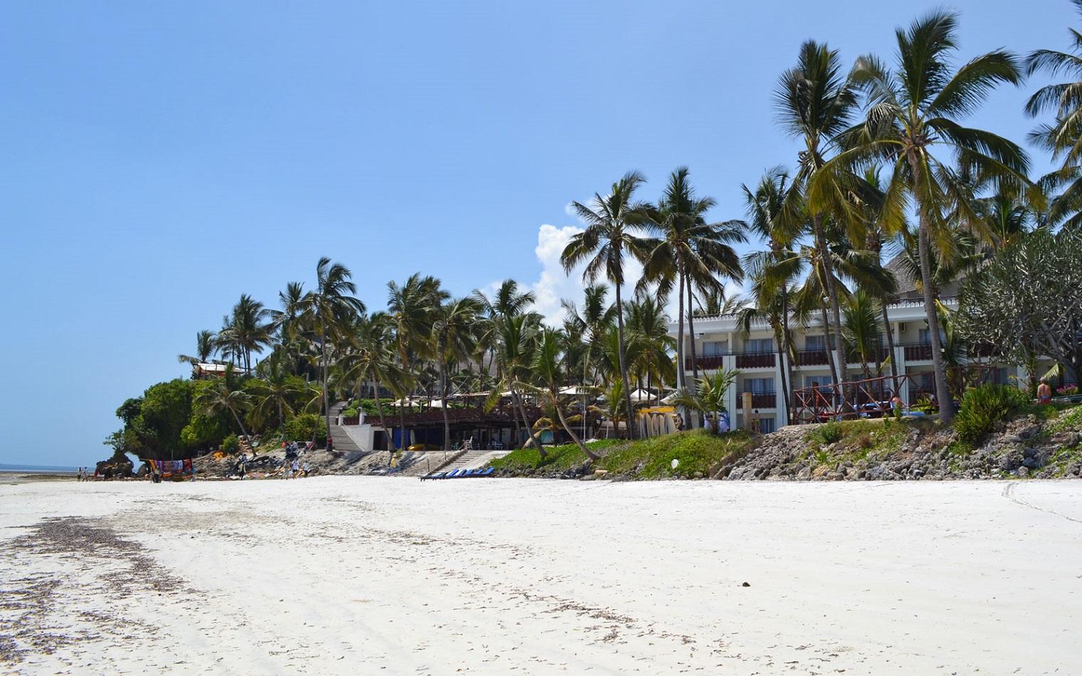 mombasa beach hotel tourism